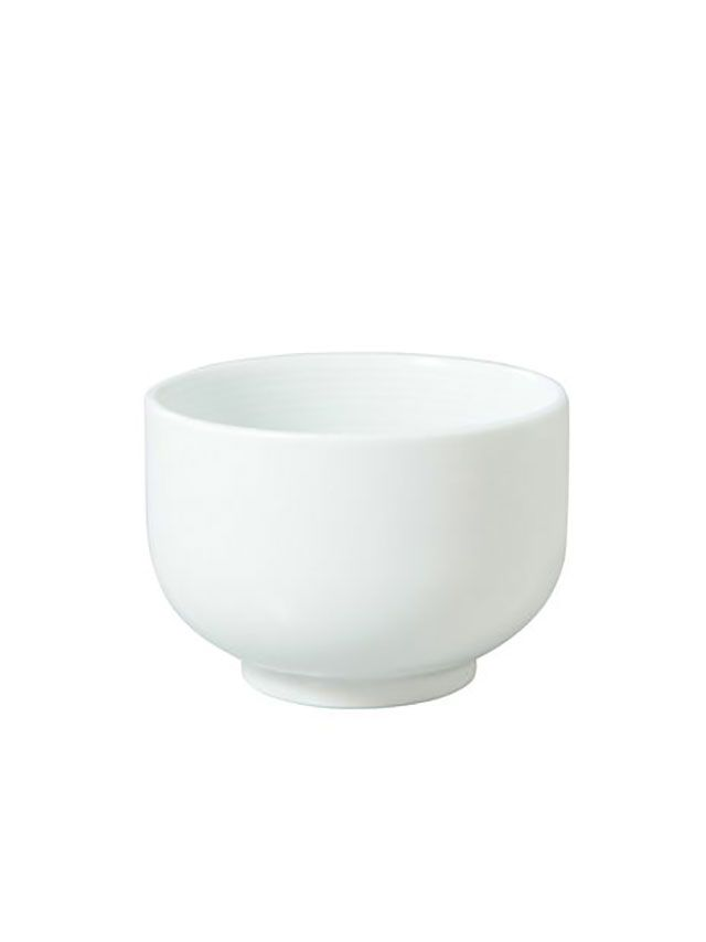 muji white teacup