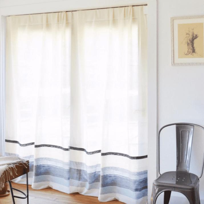 Bolé Road Textiles handwoven curtains