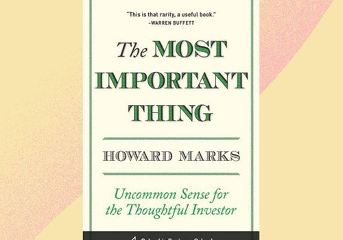 the most important thing book
