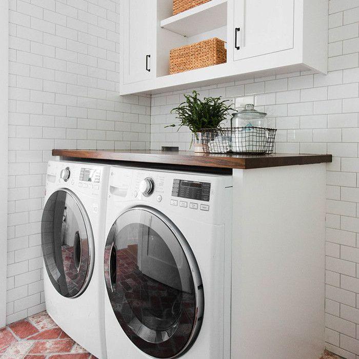 Organización del cuarto de lavado: desorden