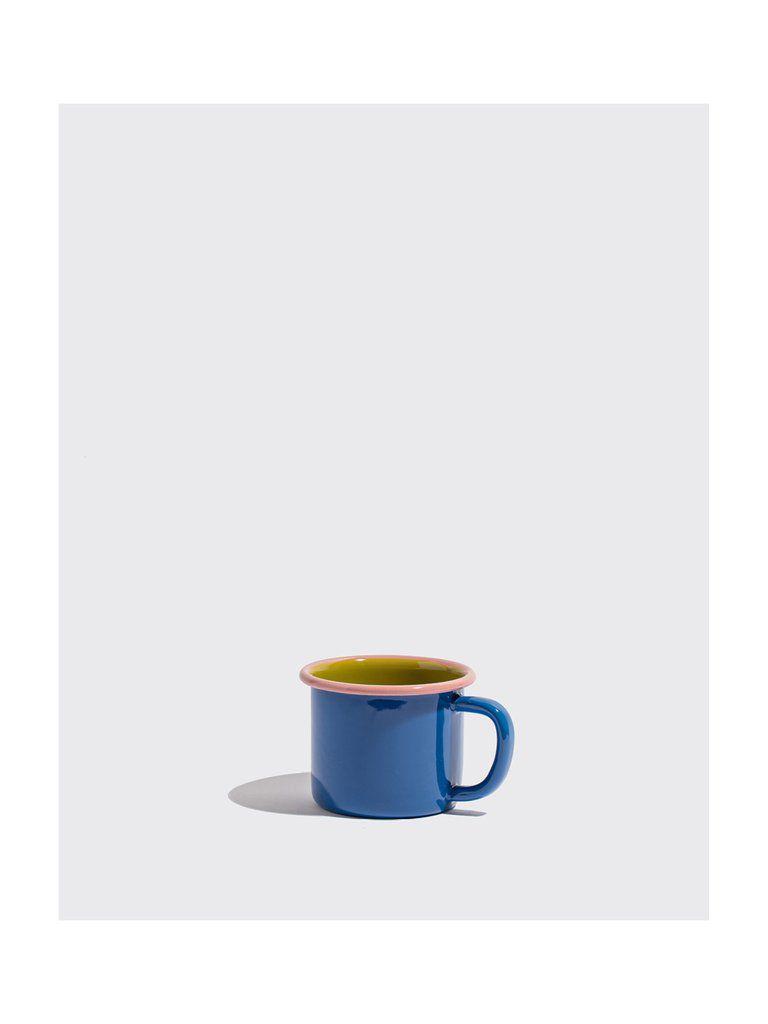 Cobalt Colorblocked Mug