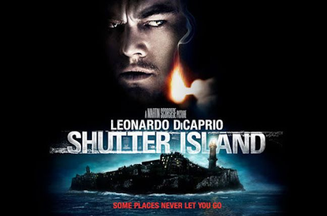 Shutter Island movie poster.