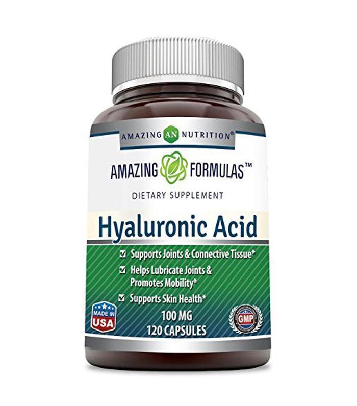 Amazing Formulas Hyaluronic Acid 100 mg 120 Capsules Hyaluronic Acid Supplements