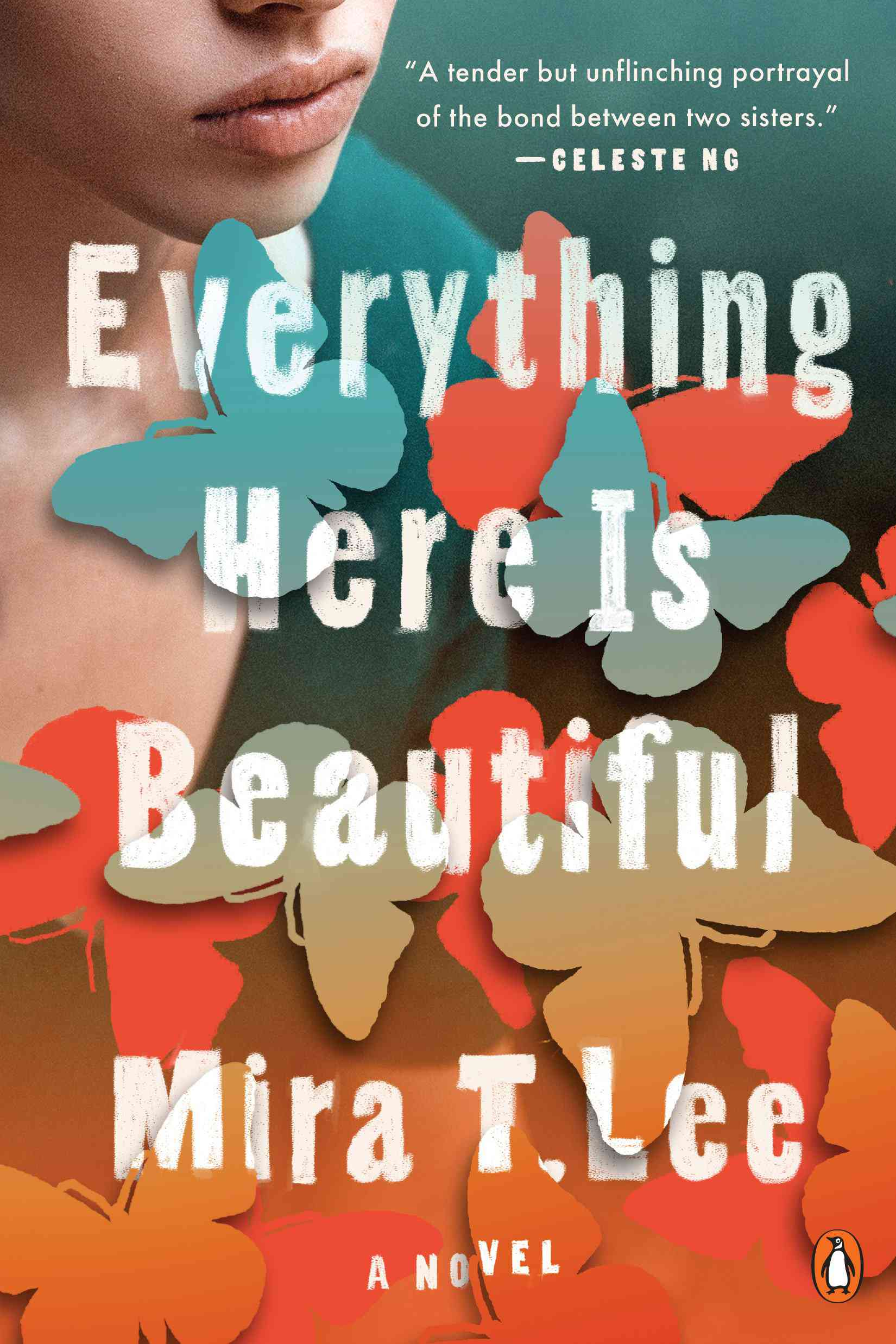 Sobrecubierta Everything Here Is Beautiful de Mira T. Lee