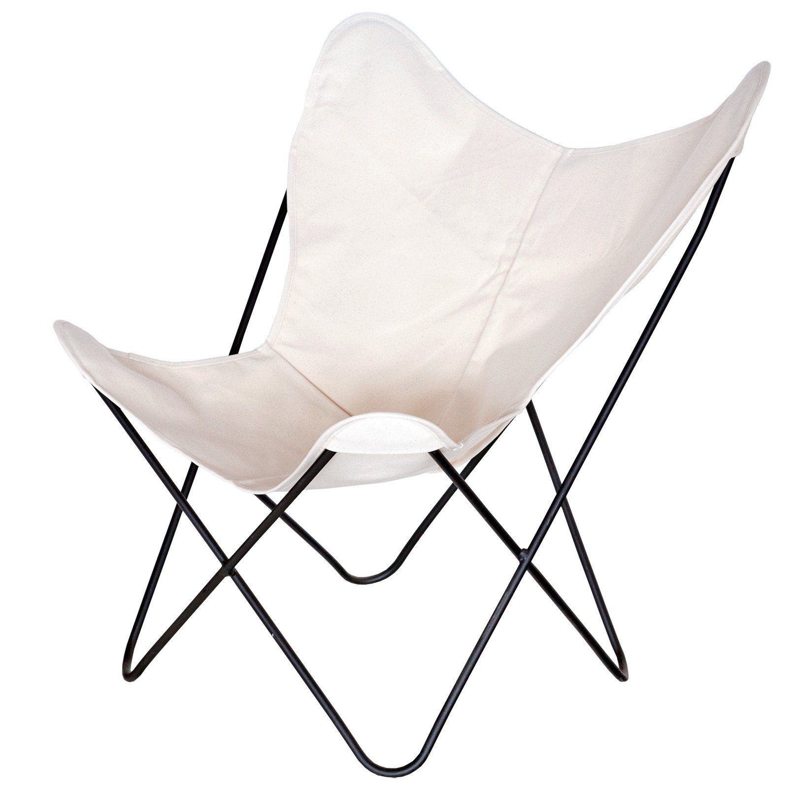 steele canvas butterfly chair