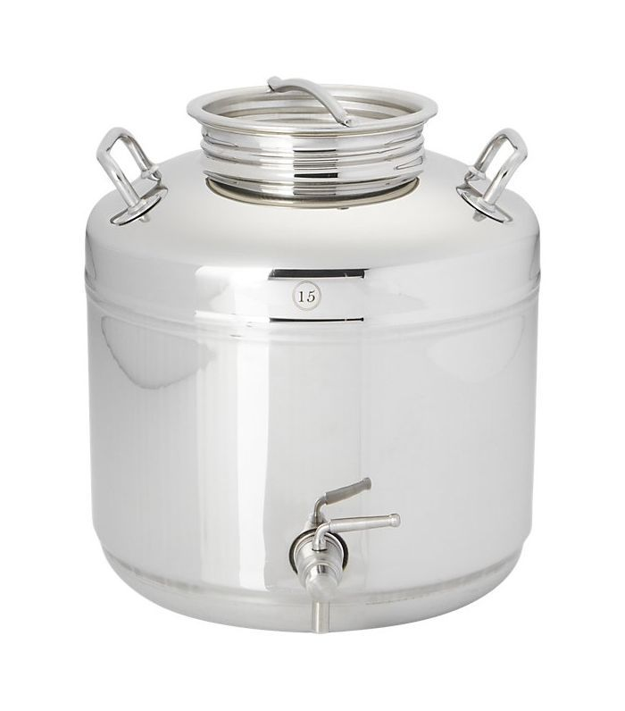 stainless steel fustis beverage dispenser