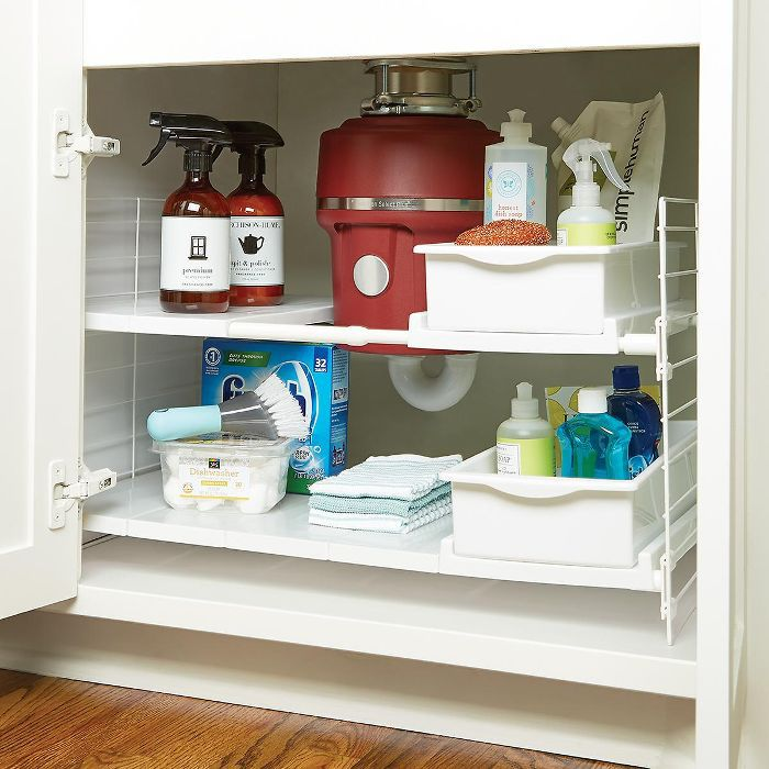 Iris Iris Expandable Under Sink Organizer