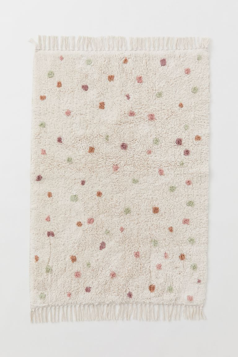 Dotted Cotton Rug
