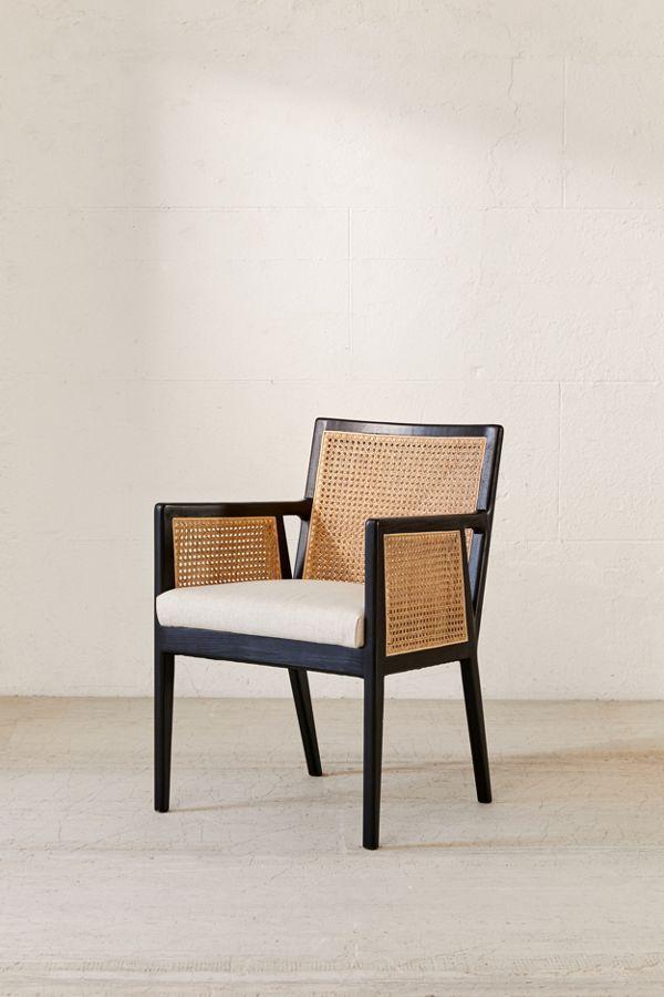 Elise Cane Arm Chair
