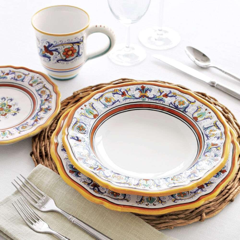 Nova Deruta Dinnerware Set, Sur La Table