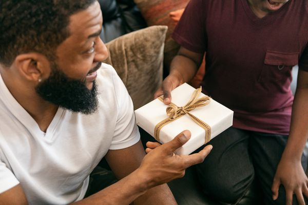Son Gives Dad A Father's Day Gift