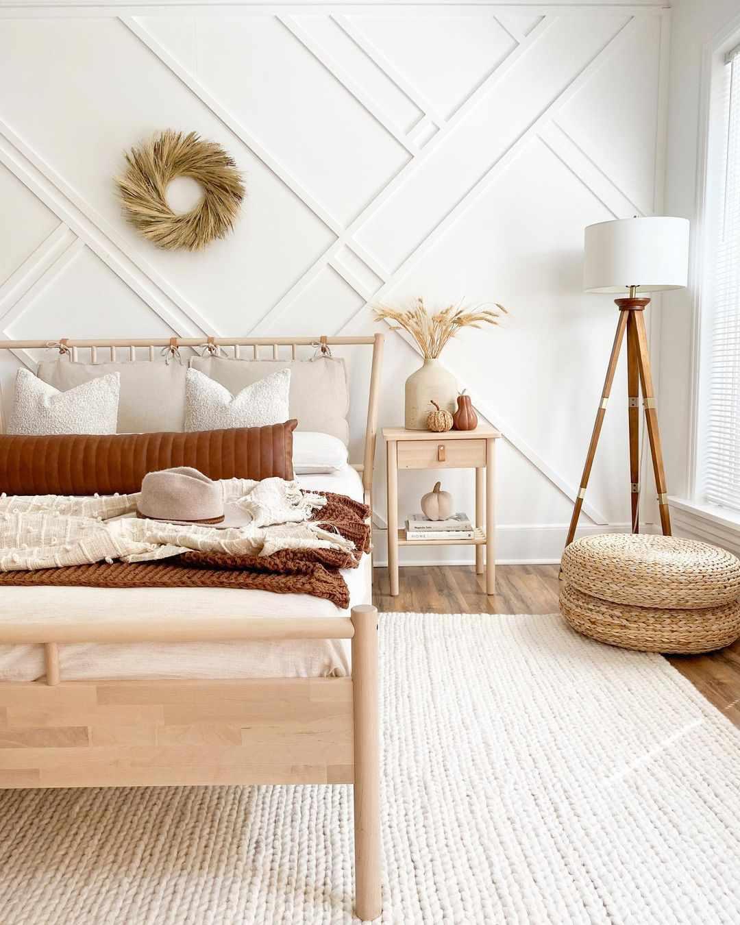 bedroom wreath