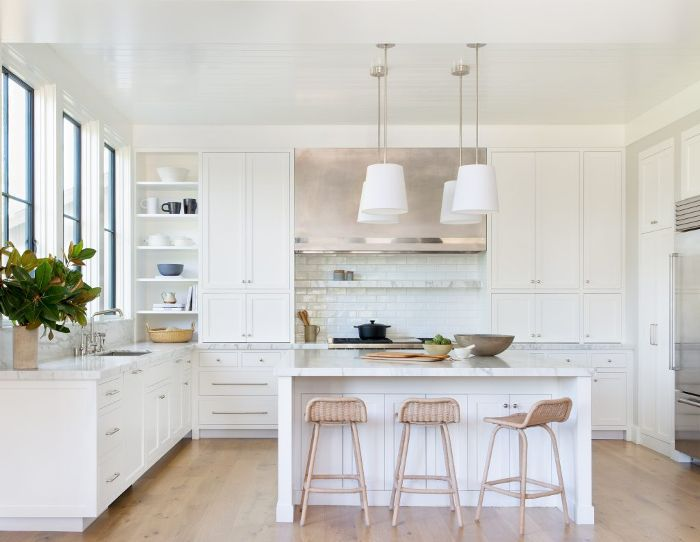 10 All-White Kitchens That Will Stop You in Your Tracks