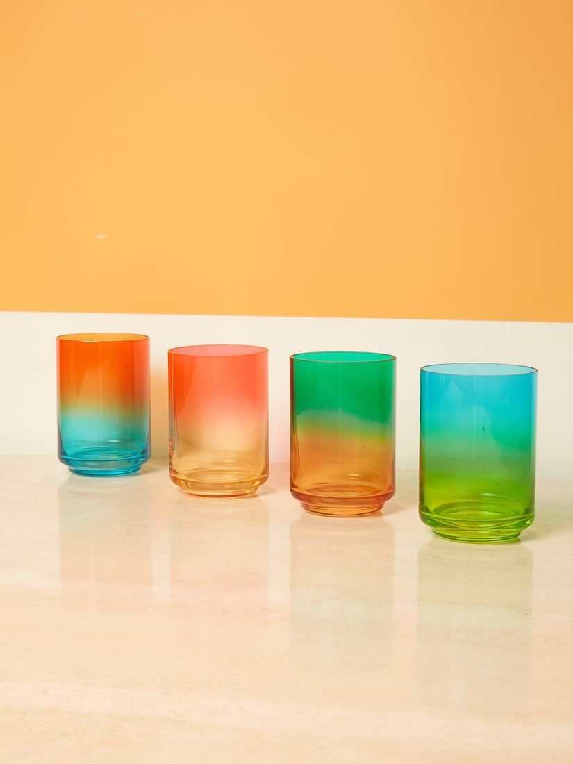 Lateral Objects Gradient Glass