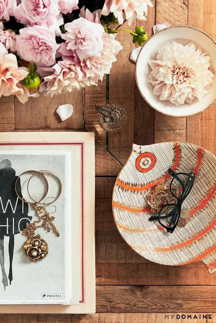 Coffee table décor—Lauren Conrad
