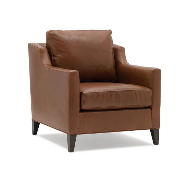 Gigi No Skirt Leather Chair