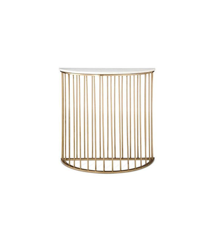 Nate Berkus for Target Marble and Gold Console Table
