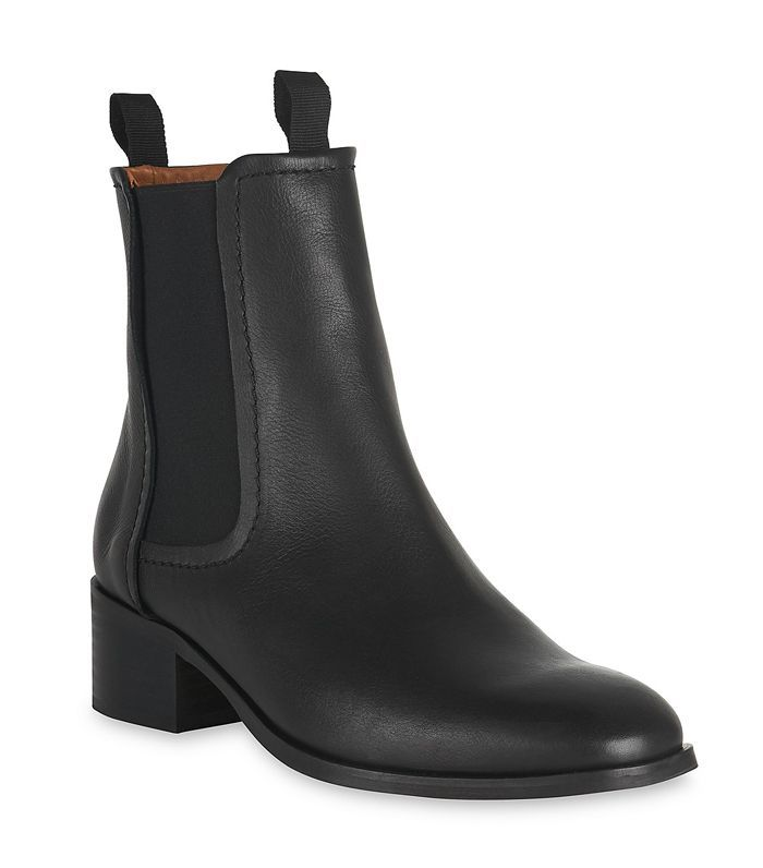 Women's Fernbrook Leather Chelsea Booties