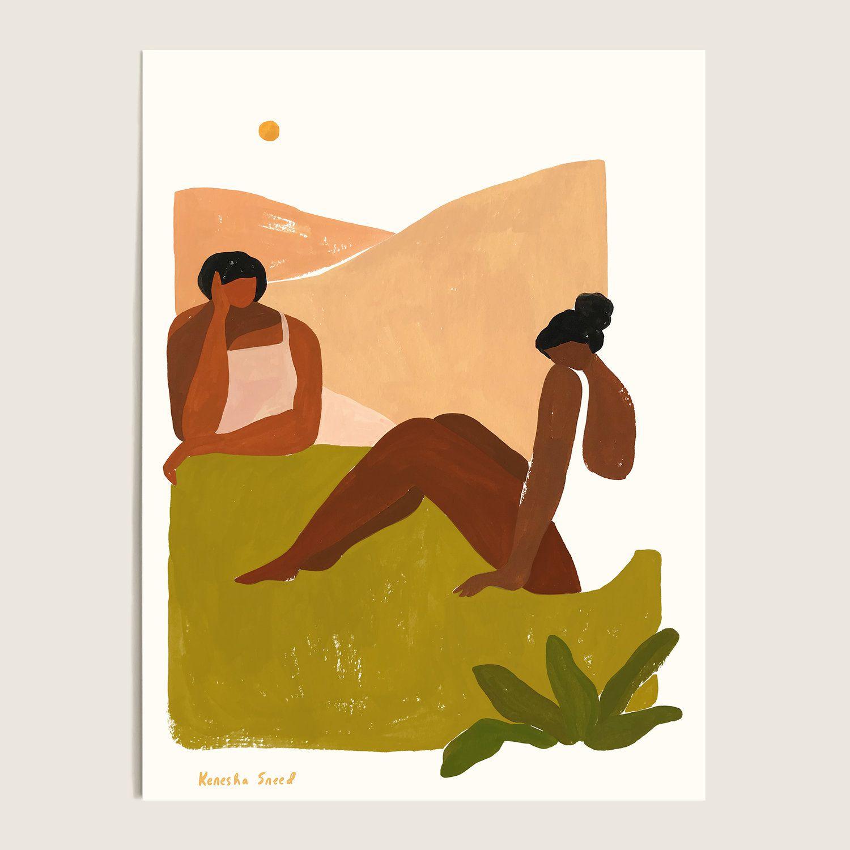 Leaning In by Kenesha Sneed