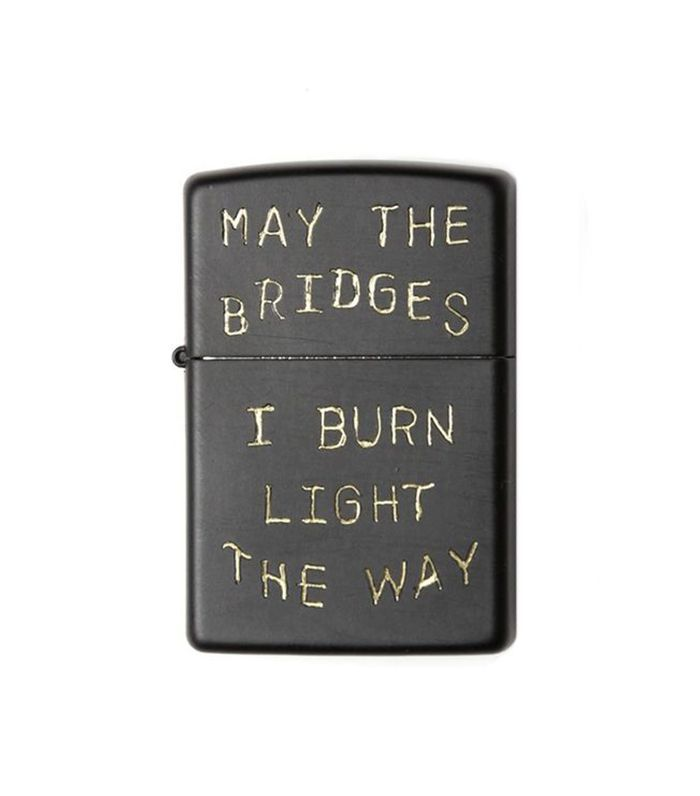 Bridge & Burn Bridges I Burn Zippo