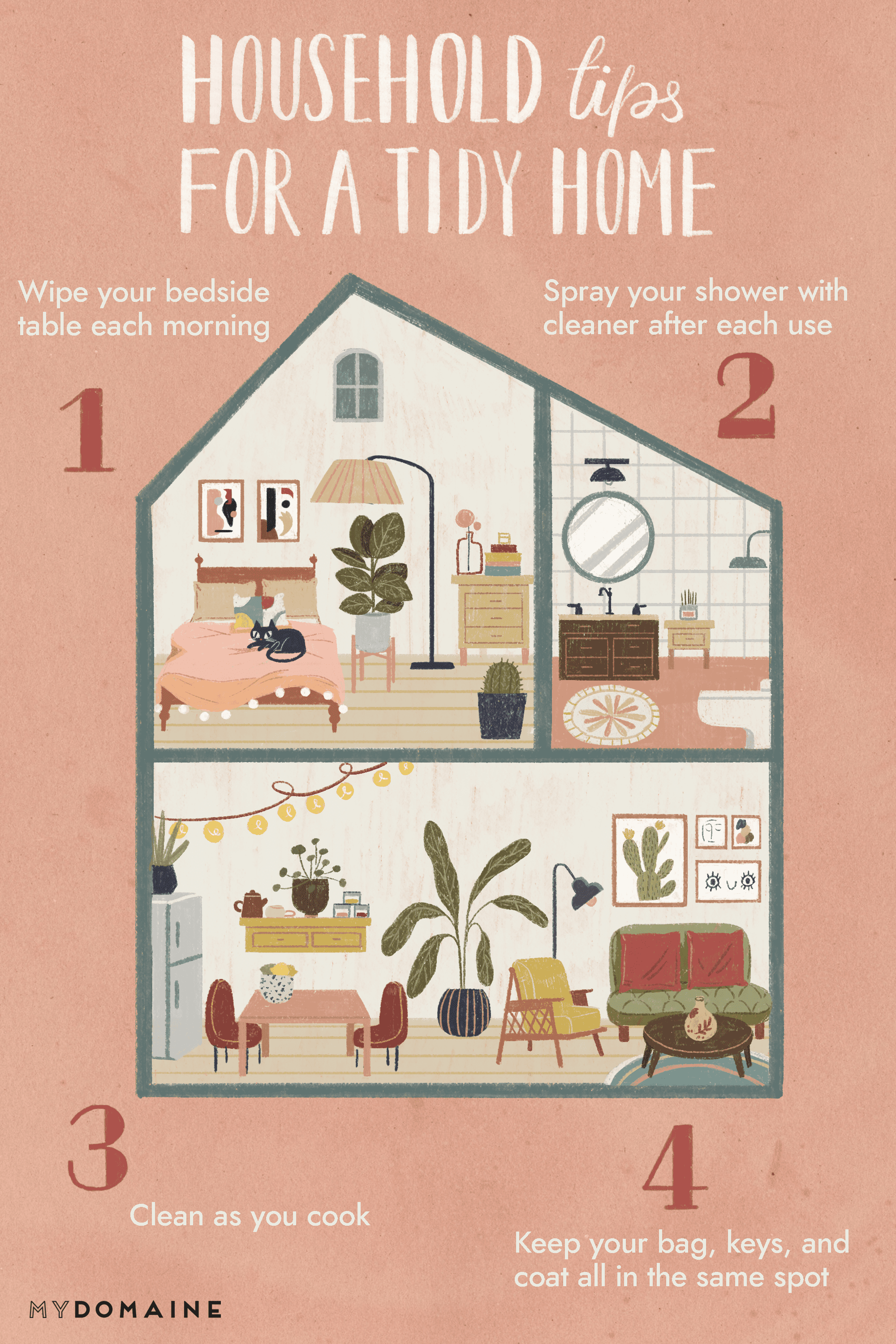 Household Tips for a Tidy Home