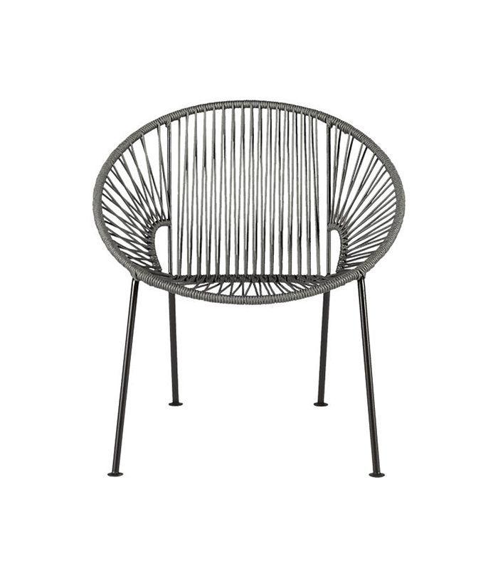 Ixtapa Grey Lounge Chair