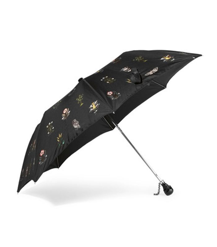 Alexander McQueen Floral-print Shell Umbrella