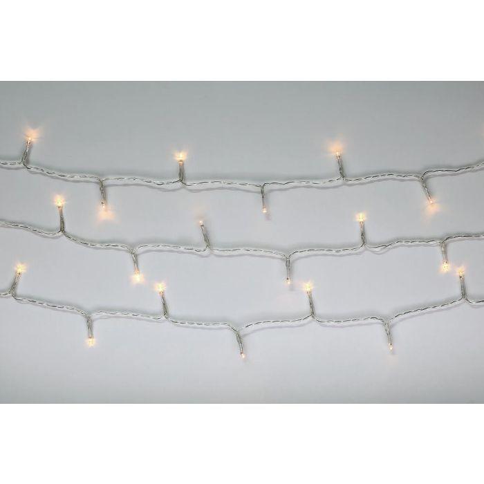 Novolink 100-Light LED Warm White Battery Operated Decorative String Light