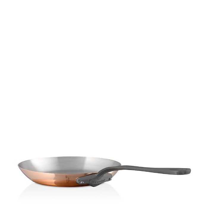 M'150c2 Copper 10.2 Round Frying Pan With Cast Stainless Steel Handle