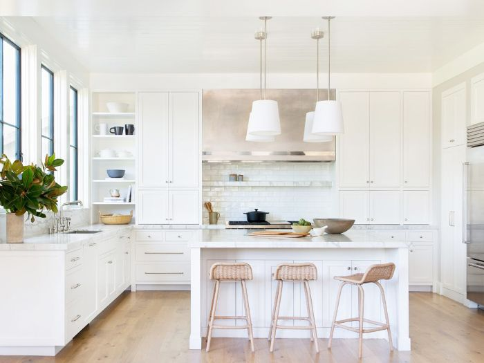10 All White Kitchens That Will Stop You In Your Tracks