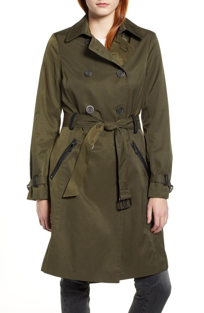Packable Trench Coat
