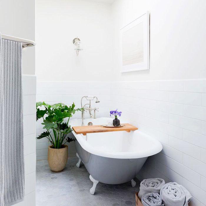 Pequeñas ideas de baño gris