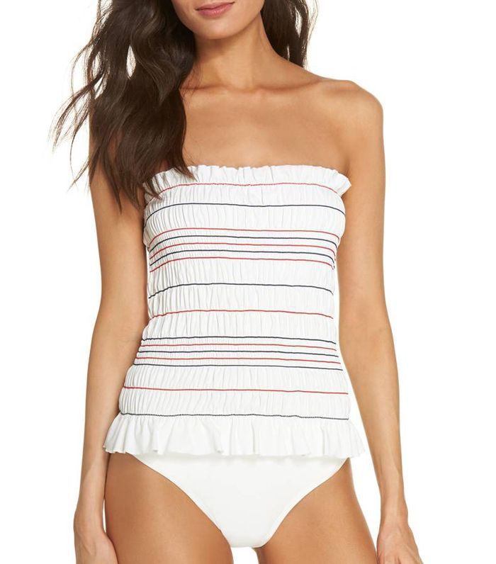 Costa Smocked One-Piece Swimsuit