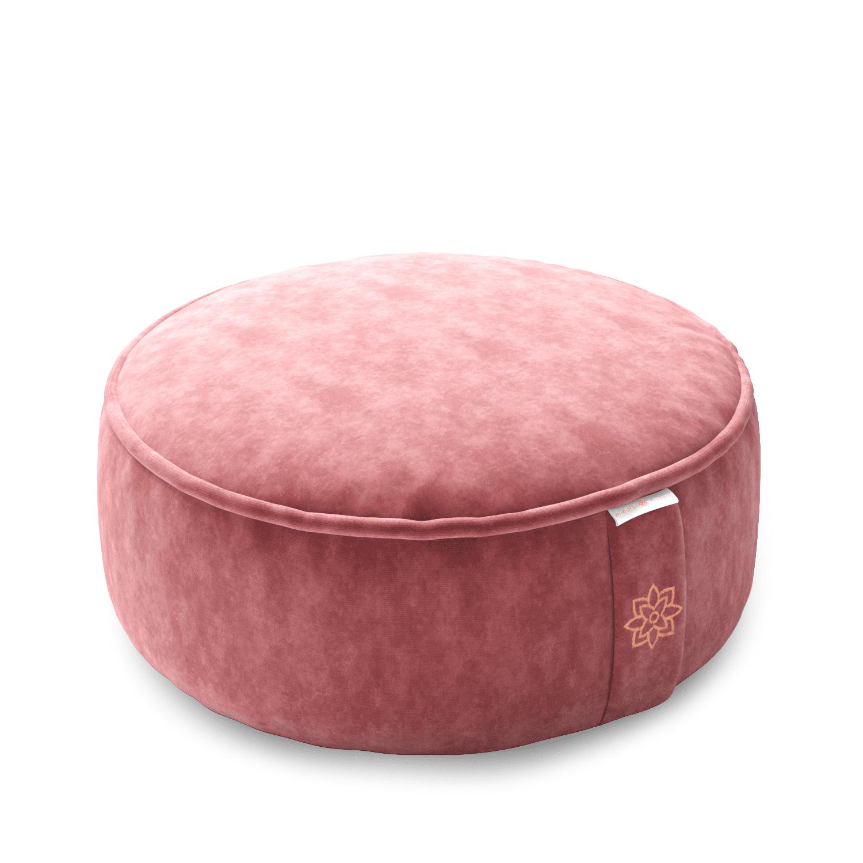 Pink meditation cushion