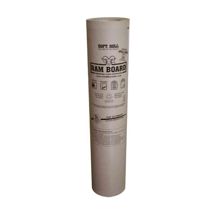 Ram Board Temporary Floor Protection Roll—Gallery Wall Layouts