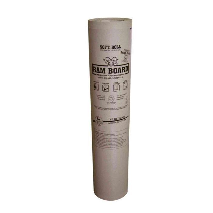 Rollo de protección temporal para pisos Ram Board — Diseños de pared de galería