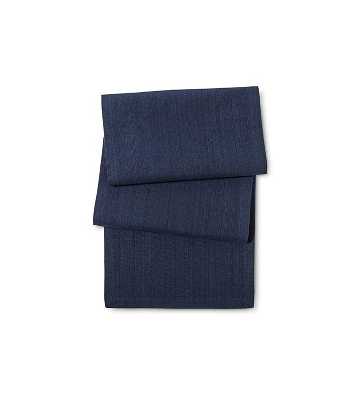 Threshold Navy Kitchen Textiles Table Runner