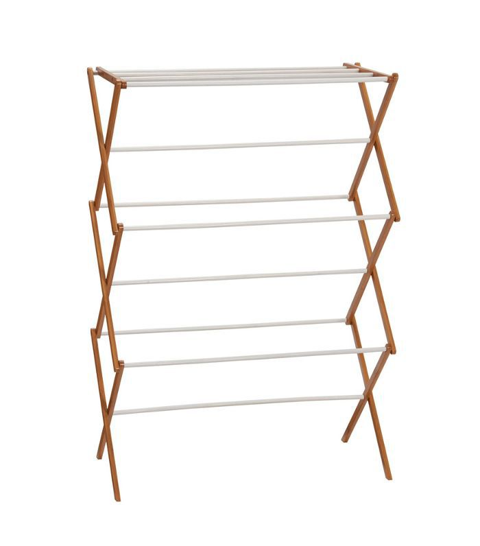 Target Household Essentials Bamboo Dryer Rack Everything Expecting Parents Need to Set Up a Baby-Friendly Laundry Room
