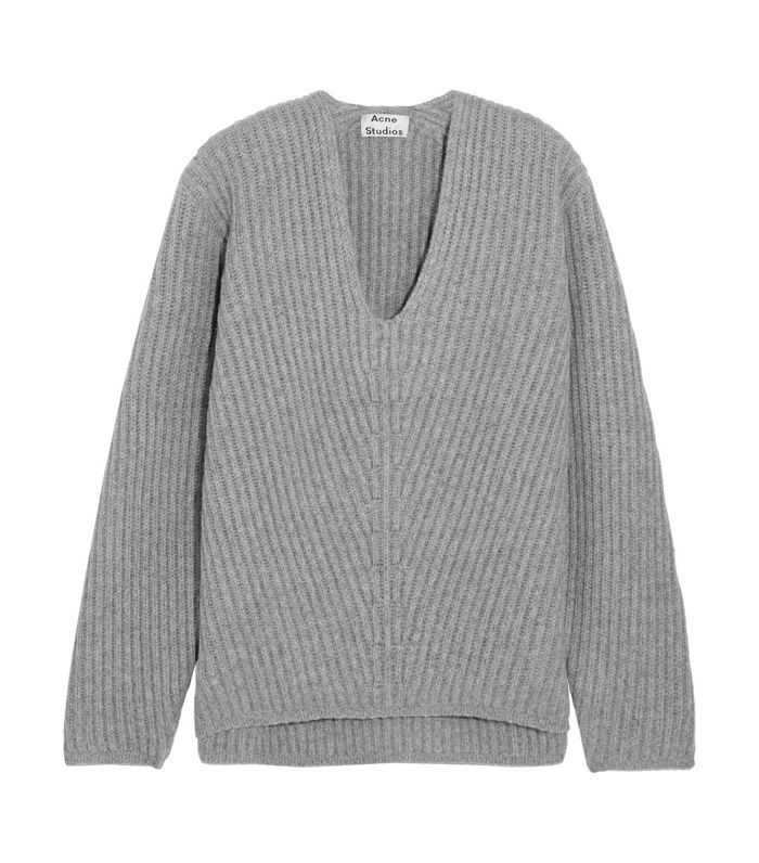 Deborah Oversized Ribbed Wool Sweater