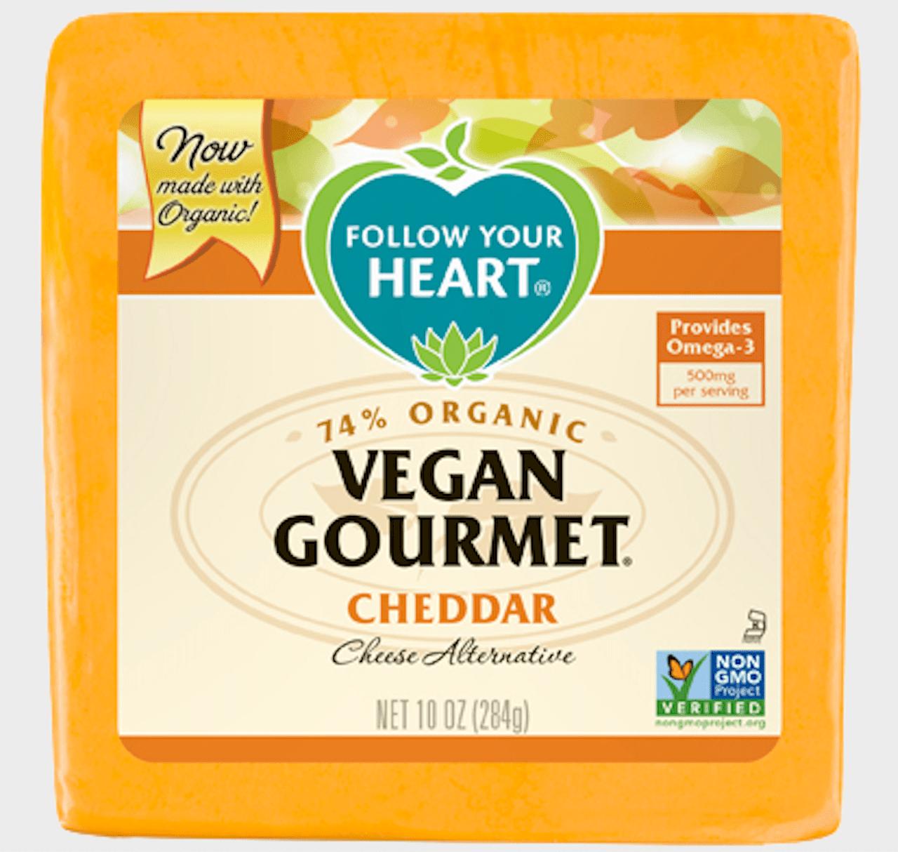 Follow Your Heart Vegan Gourmet Cheddar