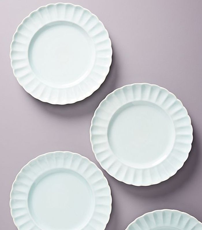 Gather by Anthropologie Daisy Dinner Plates, Set of 4