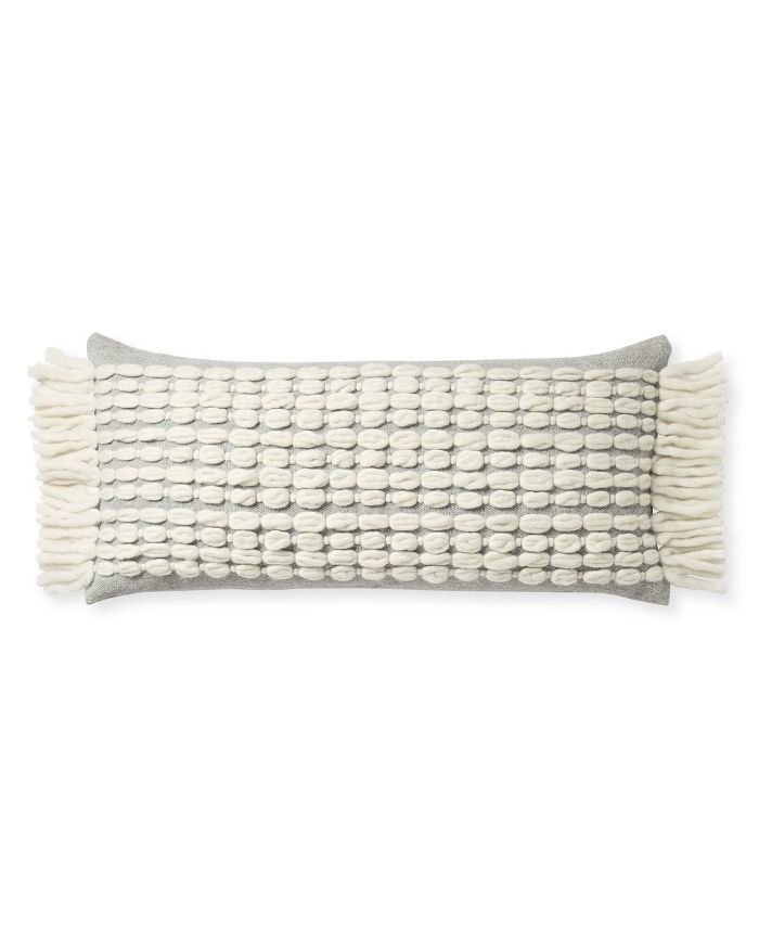 Winter Beach Pillow Cover
