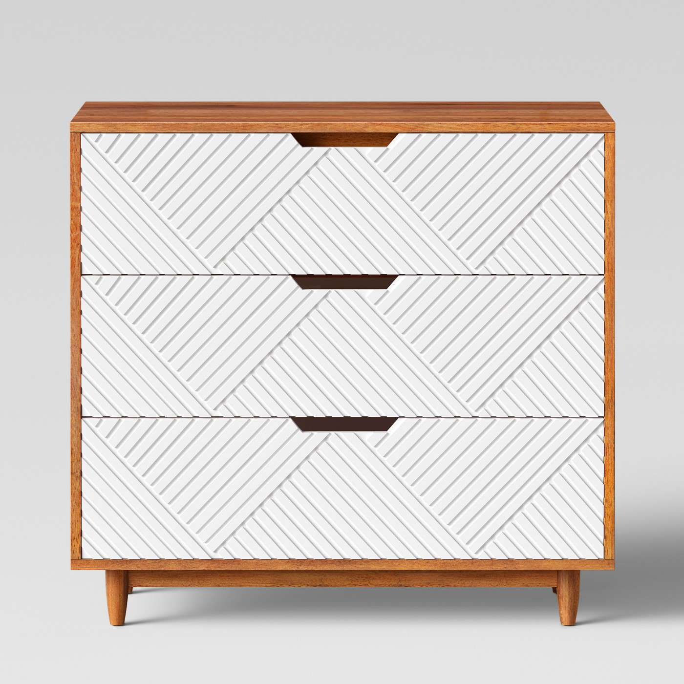 Touraco Dresser White Brown