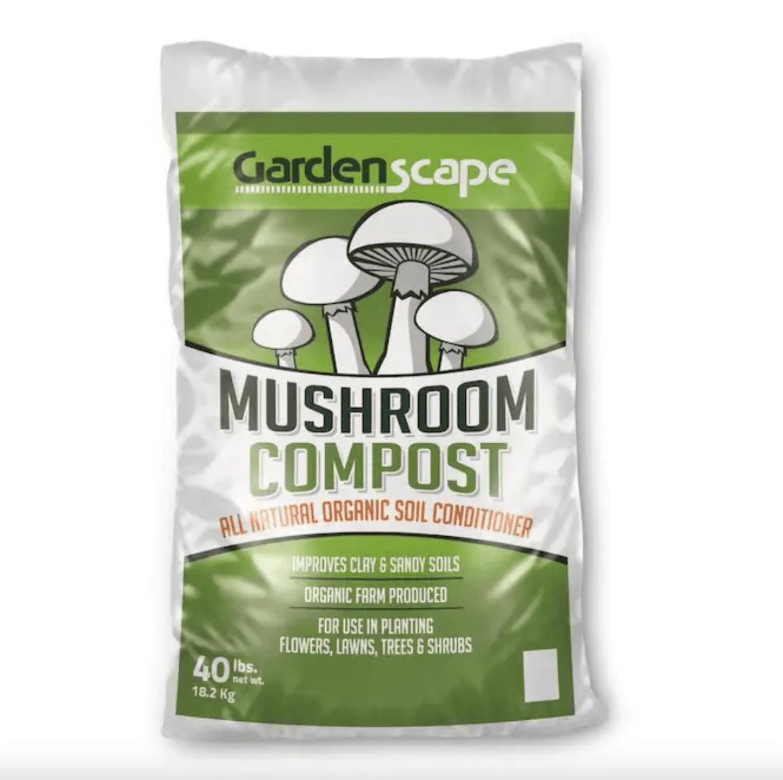 Mushroom compost.