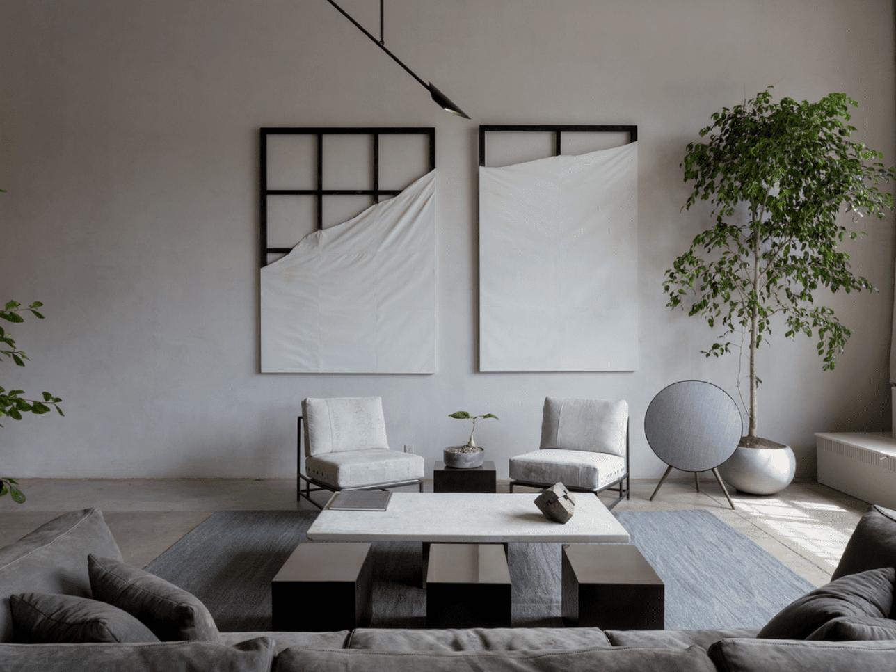 23 Sleek Industrial Style Living Room Ideas, Industrial Living Room