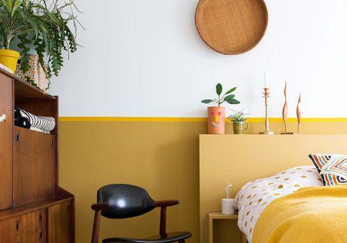 ideas de dormitorio amarillo