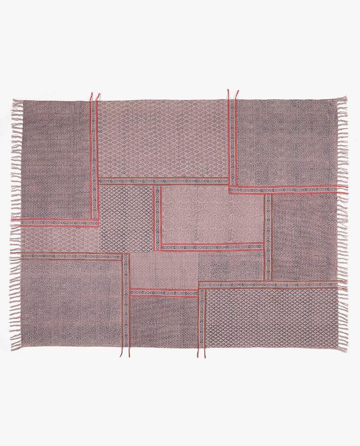 Zara Home Block Print Patch Rug