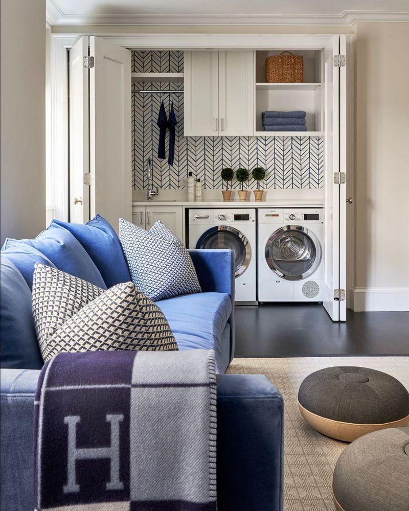 10 Tiny Laundry Rooms That Feel Much So Bigger Than They Really Are