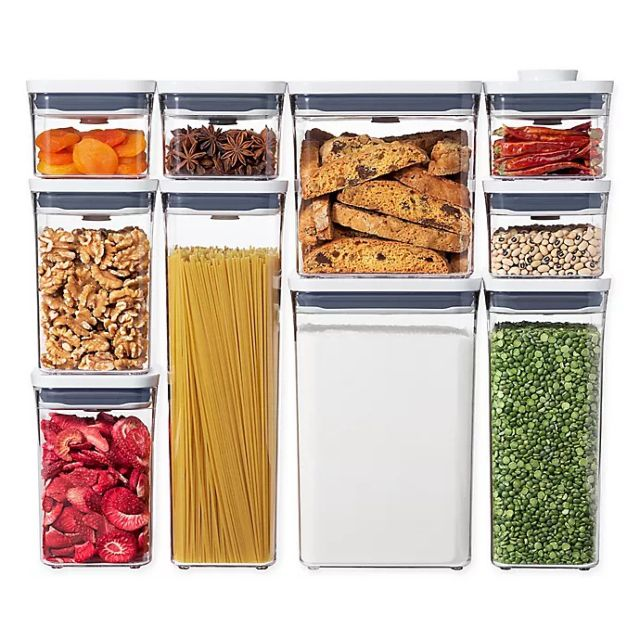 OXO Pop 10-Pc. Food Storage Container Set