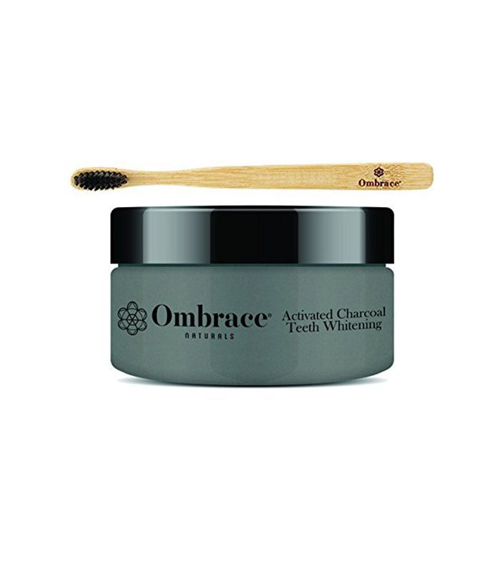 Ombrace Activated Charcoal Teeth Whitening Powder Kit